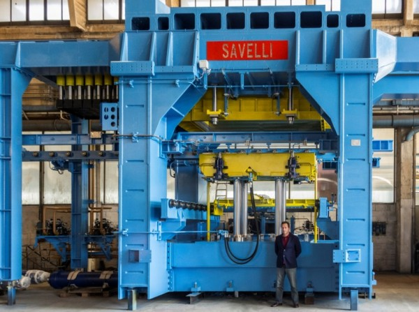 SAVELLI molding machine for PAOSTAL Ukraina