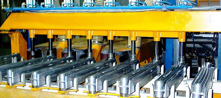 heating radiator machining