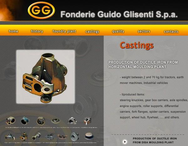Glisenti castings