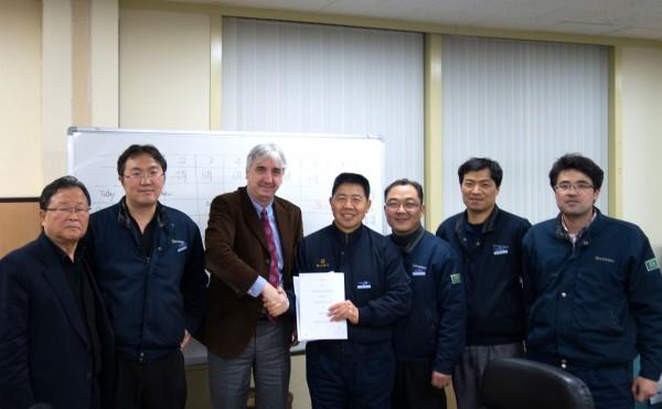 PCI contract signature