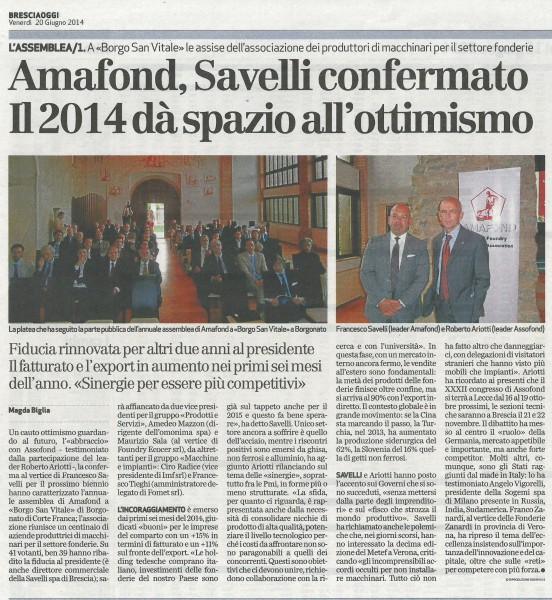 Bresciaoggi-20.06.14