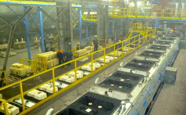 SAVELLI molding line at Altajvagon1