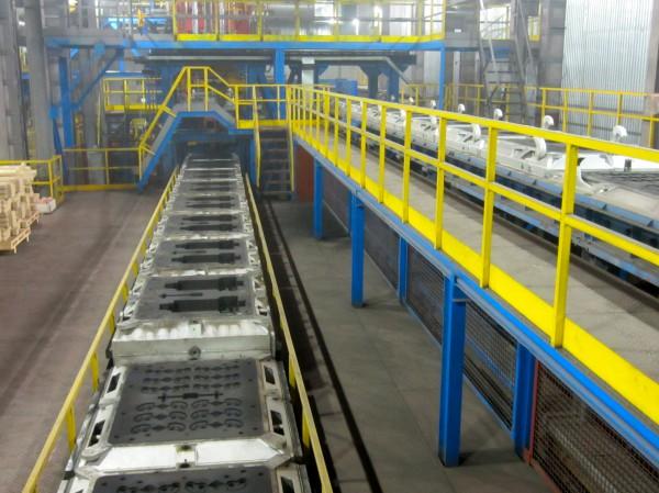 SAVELLI molding line at Altajvagon3