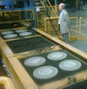 SAVELLI molding line for brake-discs1