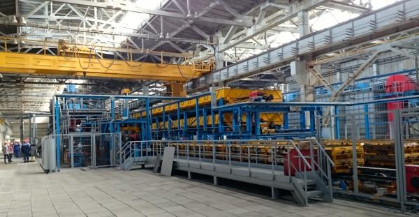SAVELLI molding line at POLIMET, Russia